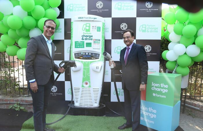 MGM 50kW charger launch with Fortum C&D